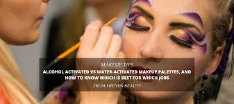 water activated makeup palettes