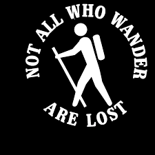 Not All Who Wander Are Lost Hiker Hiking Car Vinyl Decal Sticker Car Accessories Vinyl Decals Car Stickers Aliexpress