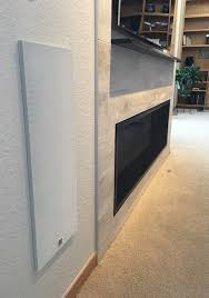 linear fireplace tile surround