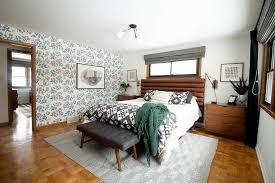 fl wallpaper in the master bedroom