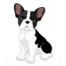 French Bulldog Cute Puppy Vinyl Sticker Waterproof Decal Sticker 5 Walmart Com Walmart Com