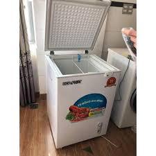 Tủ đông mini Hòa Phát dung tích 107 lít trữ Sữa , Kem, Đồ đông lạnh, Làm đá  ...