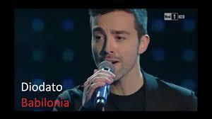 Diodato - Babilonia (SANREMO 2014) - YouTube