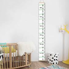 Personalized Removable Canvas Growth Chart Kid Height Chart Wooden Wall Hanging Kids Room Wall Decorative Measure Height Sticker Height Sticker Growth Chartheight Chart Aliexpress