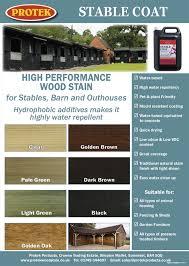 Stable Coat Colour Chart Protek Wood Stain