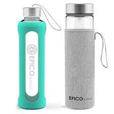 epico bottles glass water bottles