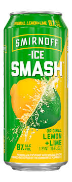 smirnoff ice smash lemon lime gotbeer