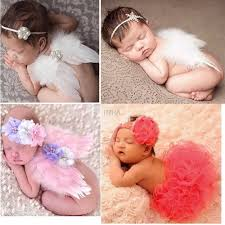حار للأطفال البنات حديثي الولادة أجنحة الملاك عقال تنورة توتو زي
