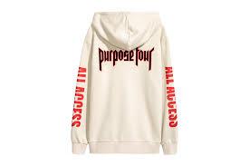 justin bieber s purpose tour merch walf