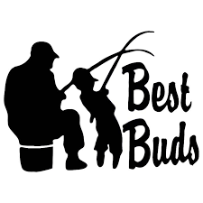2020 Fishing Best Buds Dad Grandpa Son Vinyl Stickers Decal Car Auto Glass From Xymy797 3 02 Dhgate Com
