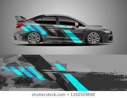 Car Decal Vector Graphic Abstract Racing Designs For Vehicle Sticker Vinyl Wrap Car Sticker Design Vinyl Wrap Car Car Decals