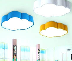 Boys Bedroom Ceiling Light Lights Furniture Led Cloud Kids Room Lighting Children Lamp For Palace Ave Fixtures Kitchen Cei Muconnect Co