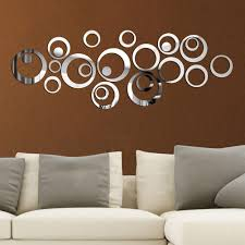 Circles Mirror Wall Stickers Mirror Removable Decal Vinyl Art Mural Wall Sticker Home Decoration Adesivo De Parede Decal Stickers Decal Stickers For Walls From Hogane 22 43 Dhgate Com