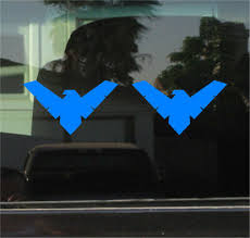 Nightwing Logo Symbol Sticker Decal Light Blue Batman Robin Dick Grayson 4 99 Picclick