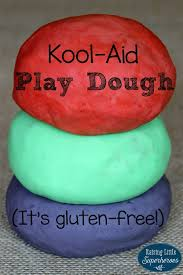 gluten free kool aid play dough