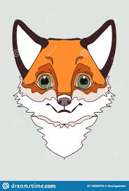 Cute Animals Embroidery Print Applique Canvas Fox Kids Room Wall Decor Textile Print T Shirt Print Illustration Stock Illustration Illustration Of Applique Embroidery 148288794