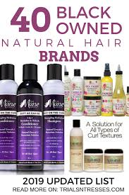 black owned natural hair brands 2019