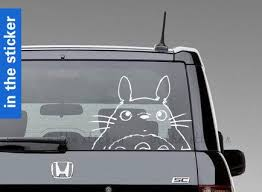 Omg I Need This Totoro Car Stickerwindow Decal Door Sticker Decal By Inthesticker Cool Car Stickers Cool Cars Cute Cars