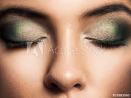 eye makeup beautiful eyes retro style