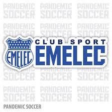 Emelec Ecuador Vinyl Sticker Decal Calcomania Pandemic Soccer