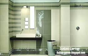 italian bathroom tiles design green