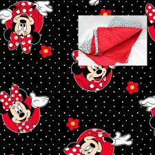 disney minnie mouse bedding blanket or