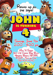 Toy Story Birthday Invitation By Asapinvites On Etsy 12 00