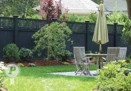 Inspiration Black Wooden Fences Backyard Fences Fence Design Backyard