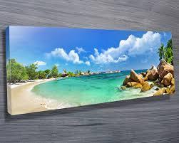 beach canvas wall art decoration ideas