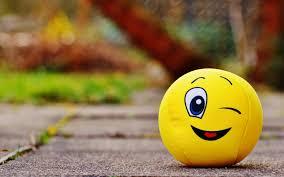 wallpaper 3840x2400 ball smile