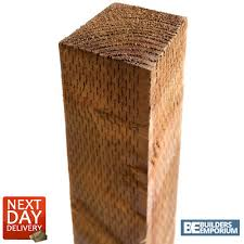 Timber Fence Posts 3x3 4x4 All Sizes 6ft 7ft 8ft 10ft Longpremium Quality Ebay