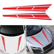 4 5 31 5inch Racing Stripes Vinyl Graphics Decal Car Truck Hood Stickers Walmart Com Walmart Com