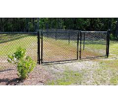 Black Vinyl Chain Link Fence Parts Tagged Gates America S Fence Store