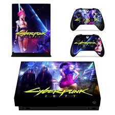 Cyberpunk 2077 Xbox One X Vinyl Skin Sticker Cover Consoleskins Co