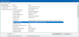 bios version on windows 10 pureinfotech