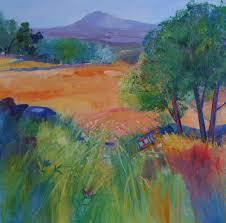 Letitia Smith-Burnett paintings & prints: Late Summer, Donside