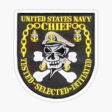 Navy Chief Stickers Redbubble