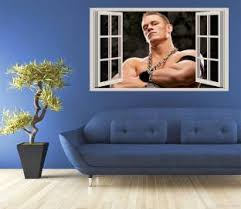 Gadgets Wrap John Cena 2 Fake Window Style Wall Decal For Home Office 50cmx90cm Price In India Buy Gadgets Wrap John Cena 2 Fake Window Style Wall Decal For Home