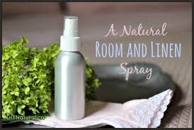 homemade linen spray and aromatherapy