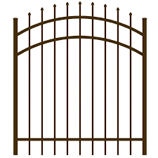 Ironcraft Common 4 Ft X 4 Ft Actual 4 Ft X 3 92 Ft Orleans Bronze Powder Coated Aluminum Post And Rail Pressed Point Decorative Metal Fence Gate Lowes Com In 2020 Metal Fence Gates Metal Fence Metal Decor