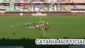 Catania 1-0 Picerno - Highlights - Serie C - YouTube