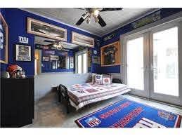 New York Giants Theme Giants Bedroom New York Giants Ny Giants Football