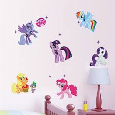 My Little Pony Wall Decals Aw1425 Wall Sticker Etsy