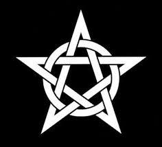 Wiccan Pagan Celtic Pentagram Window Sticker Decal Vinyl 5 Inch In Gloss White Ebay