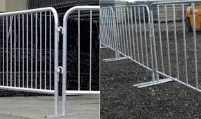 Galvanised Fencing Mobile Fencing Mesh And Steel Tube Fencing