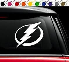 Tampa Bay Lightning Nhl Hockey Vinyl Car Decal Sticker Logo Stamkos Choose Size Ebay