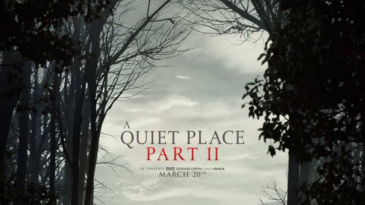 Image result for a quiet place part 2 official poster""