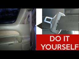 retract seat belt toyota ford