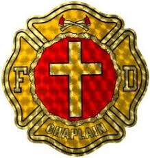 Chaplain Decal Firefighter Com