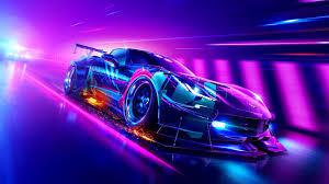 chevrolet corvette grand sport neon car